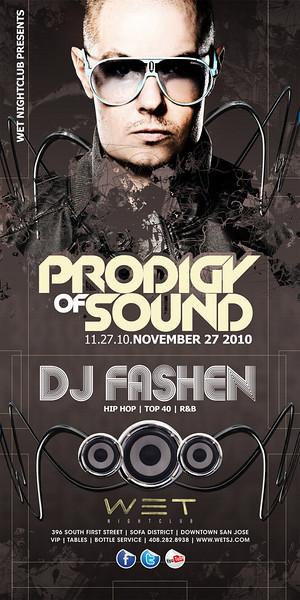 11/27 [Prodigy of sound@WET]