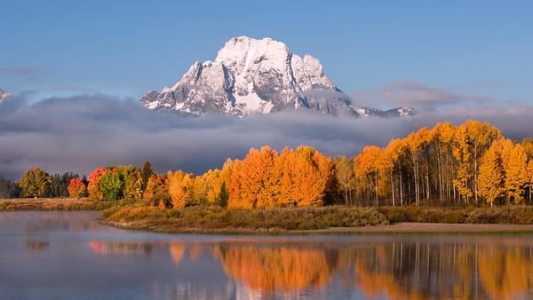 Majestic Mount Moran