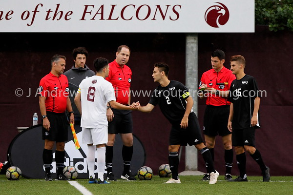 20180913 Mens Soccer Seattle Pacific University Falcons versus Hawaii Pacific University Sharks Snapshots