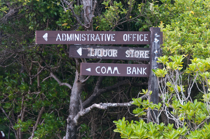 More signs at Lord Howe Island