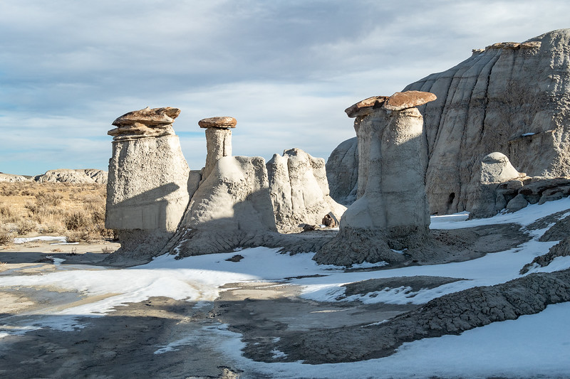 Another Hoodoo Group and Snow