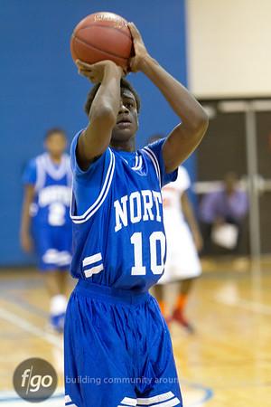 12-3-13 St Paul Humboldt v Minneapolis North Basketball