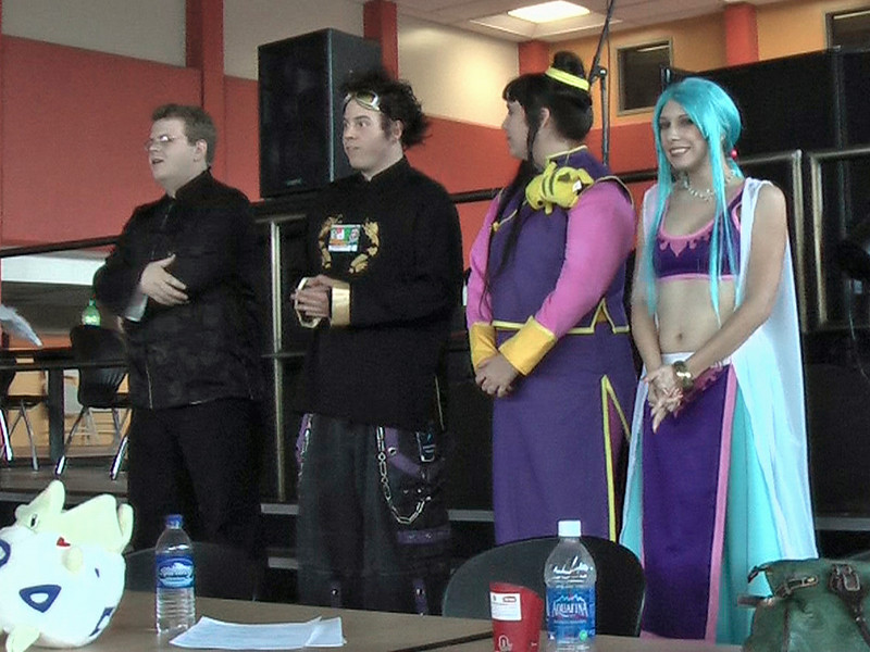 The judges prepare to announce the winners