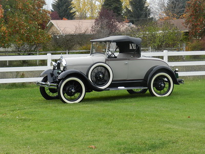 1929 Ford Model A Roadster - For Sale