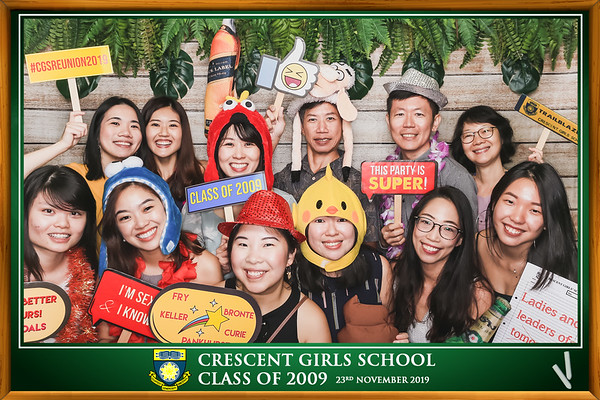 Crescent Girls School Class of 2009
