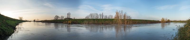 Panaro River - Caselle, Crevalcore, Bologna, Italy - November 29, 2012
