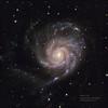 Messier 101, the PinWheel galaxy in Ursa Major