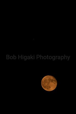 Harvest Moon and Mars