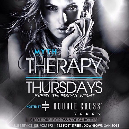 "<FONT SIZE=""1"">Therapy Thursdays @ Myth Taverna & Lounge 12.4.14"