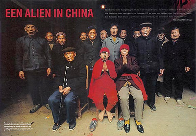 WEEKEND KNACK (Belgium): An Alien in China (cultural-historical feature)
