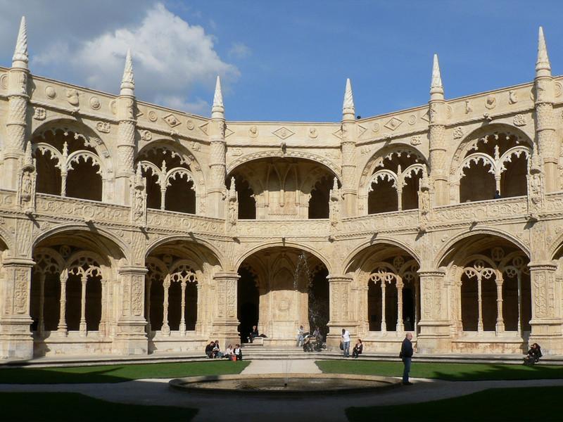 The cloister,Mosterio dos Jeronimos