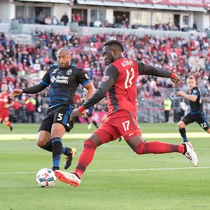 San Jose vs Toronto FC