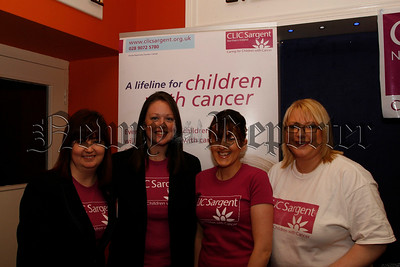 "The organising Committee who held a very successful ""Ladies pamper evening"" in aid of CLIC Sargent in the Canal Court,07W6N59"