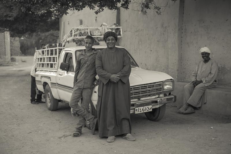 Proveedores del hotel Marsam. Lúxor. Egipto