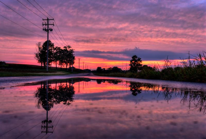 1024 - pink skies in puddle 9-19-16 (p).jpg