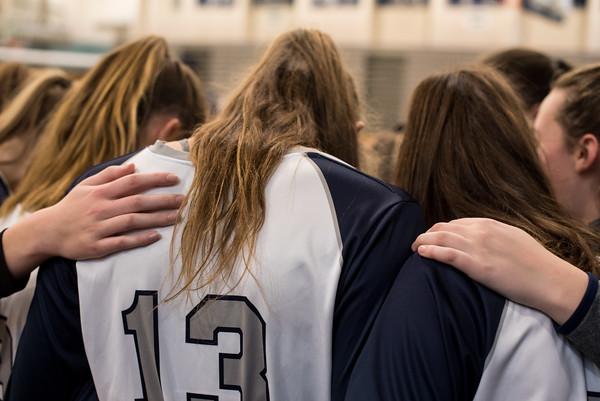 2018 Volleyball Playoffs vs. Silverton