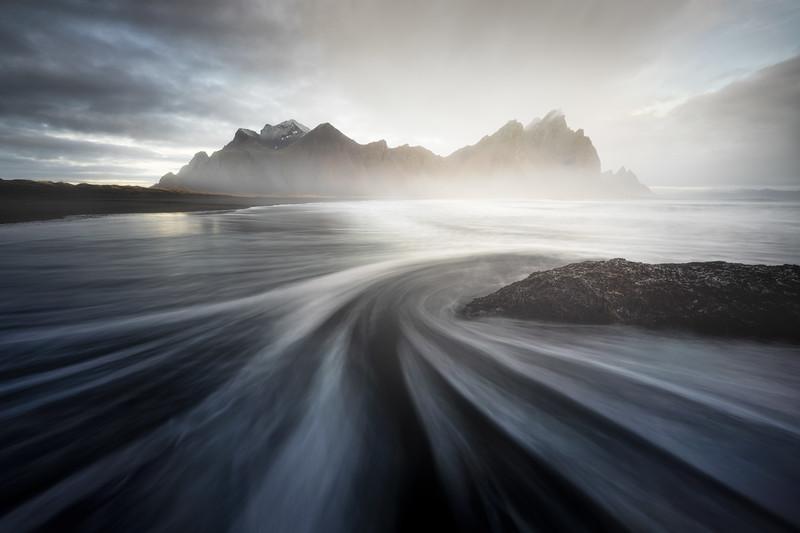 Stokksnes Vestrahorn Flow Landscape Seascape Photography Mads Peter Iversen.jpg