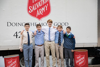 Thanksgiving for Salvation Army - Nov 2018