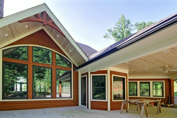 Mountain Lakes Millwork Tiger GA Home