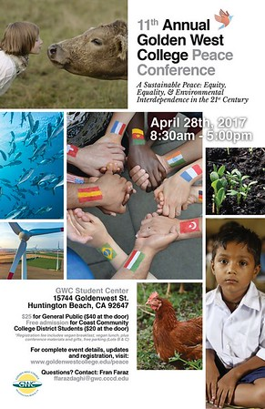 Eleventh Annual Golden West College Peace Conference