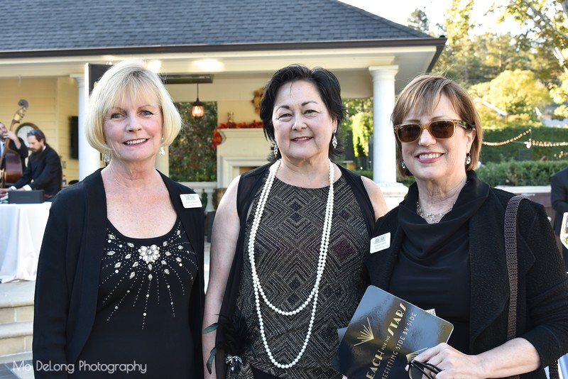 Jacqueline Spielberg, Mary Denton and Cynthia Gregory