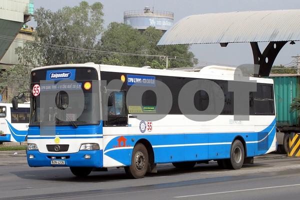 Buses in Vietnam
