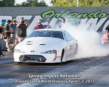 Spring Import Nationals April 1 & 2, 2017