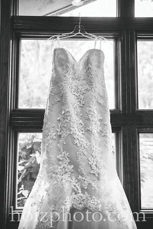 Katie & Adam - B/W Wedding Photos
