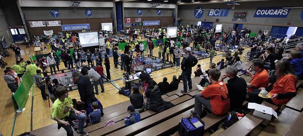 BCIT Robot competition March 10 2012
