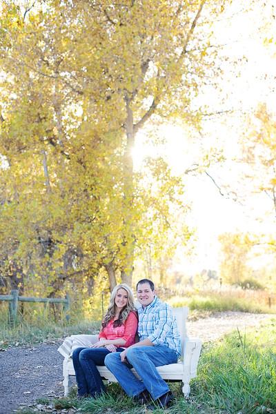 Blake and Haley Colorado Engagement