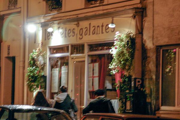 Les Fetes Galantes restaurant Paris, France - December, 2005