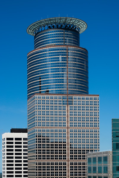 Capella Tower at Downtown Minneapolis, Hennepin County, Minnesota, USA