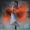 Seminole Child Tribal Dancer