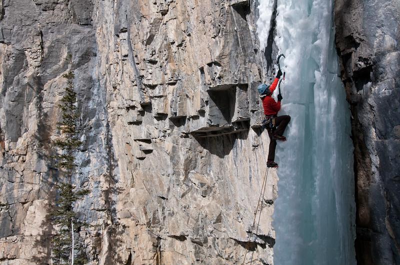 Lilla Molnar on The Eagle, Ghost River Alberta 2