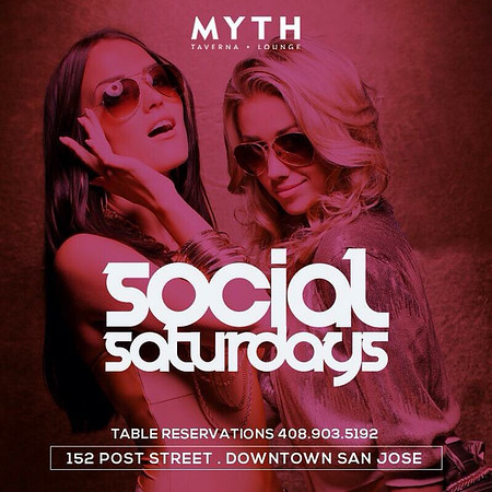 Social Saturdays @ Myth 12.26.15