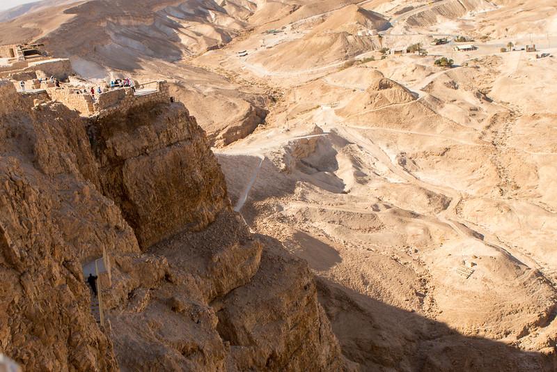 Herod's Palace on Masada
