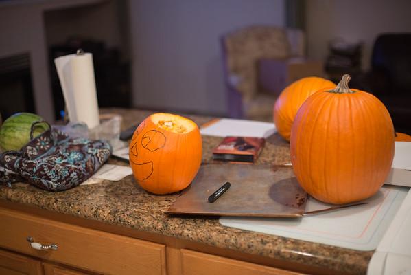 Pumpkin Carving 10/11/2014