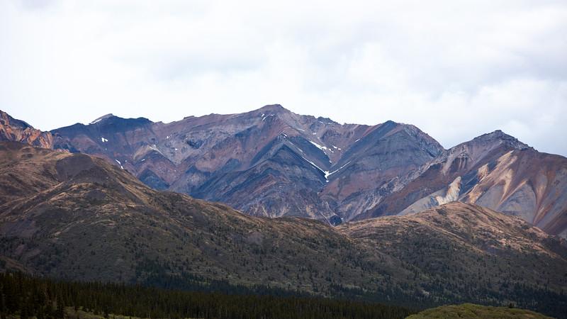 Polychrome Mountain Denali