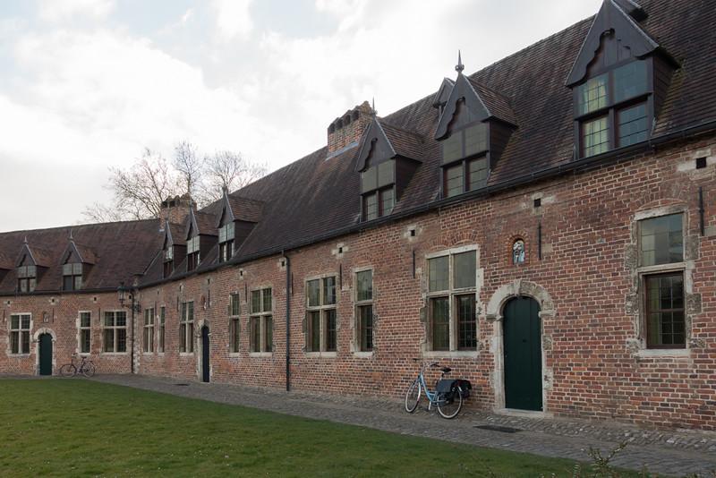 Groot begijnhof Leuven.