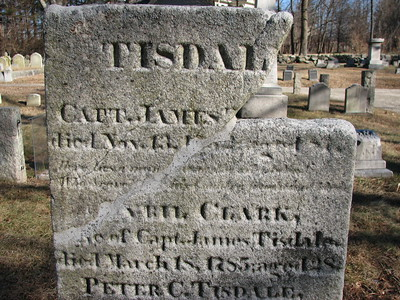 James Tisdale Grave