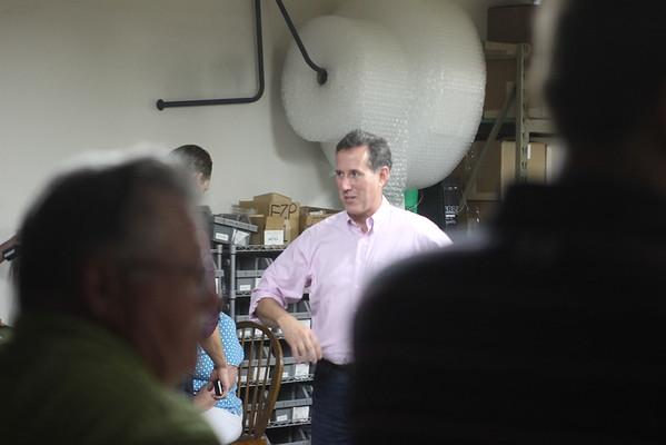 Rick Santorum Visits Ottumwa