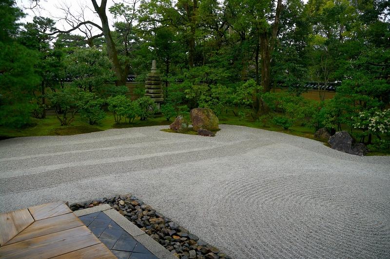 Japanese garden of Kennin-ji