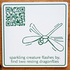 dragonfly qr code panel