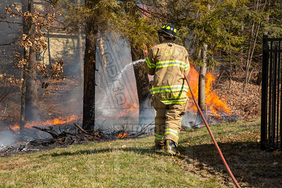 Glastonbury, Ct Brush fire 3/9/20