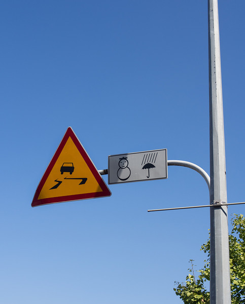 Seto spotted these cute road signs near Korea University