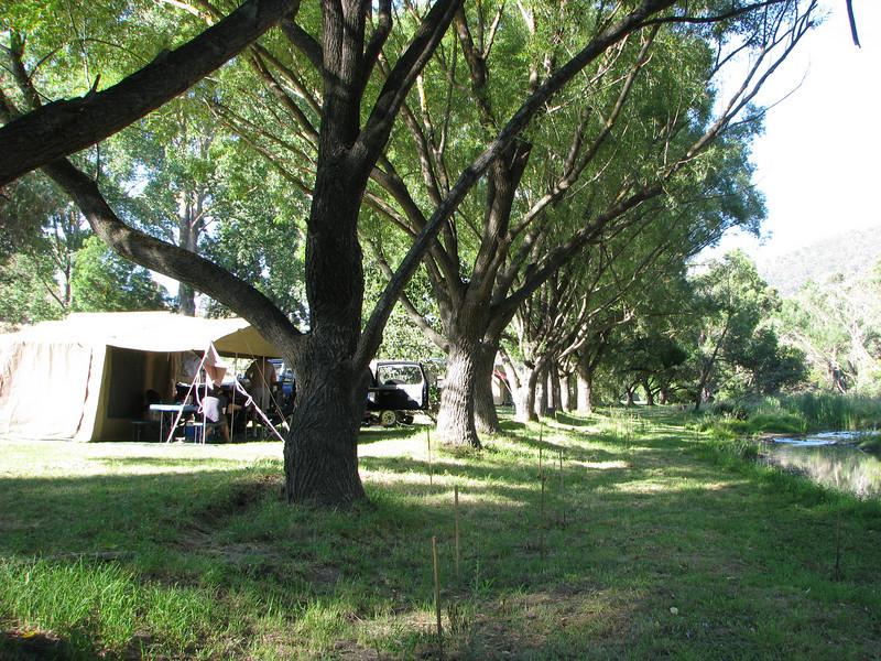Omeo Caravan Park Campsites