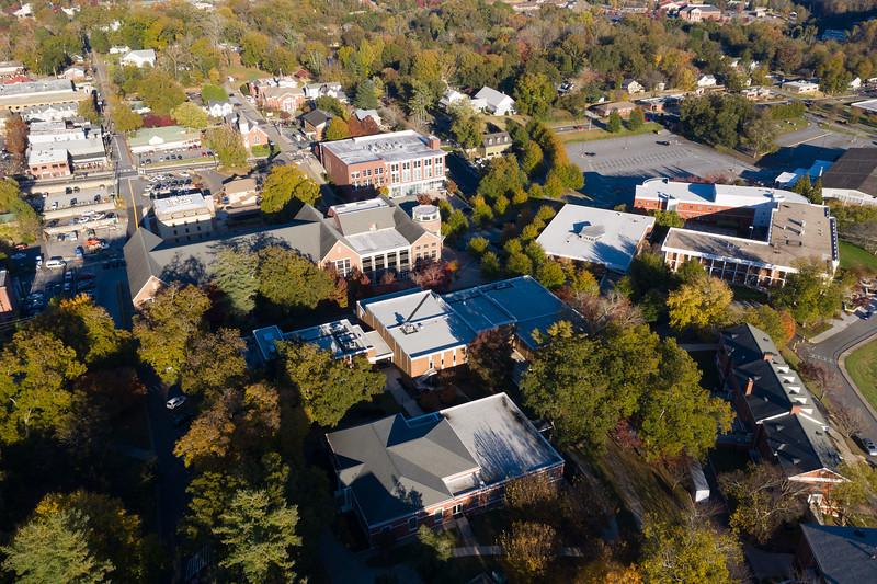 The UNG campus