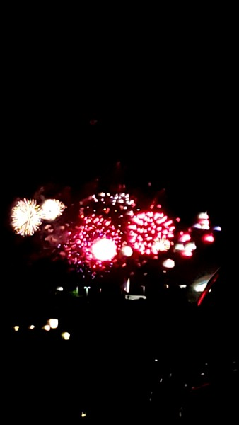 10-12-2019 Fireworks at the Festival and Last Dinner