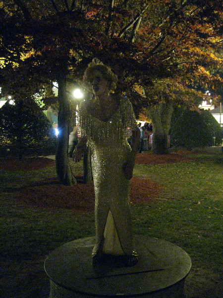 Undead Marilyn.