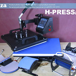 SKU: H-PRESS/MT5, Heatware X5 Heat Press, with Flat,Mugs, Cap and Two Size Plate Press